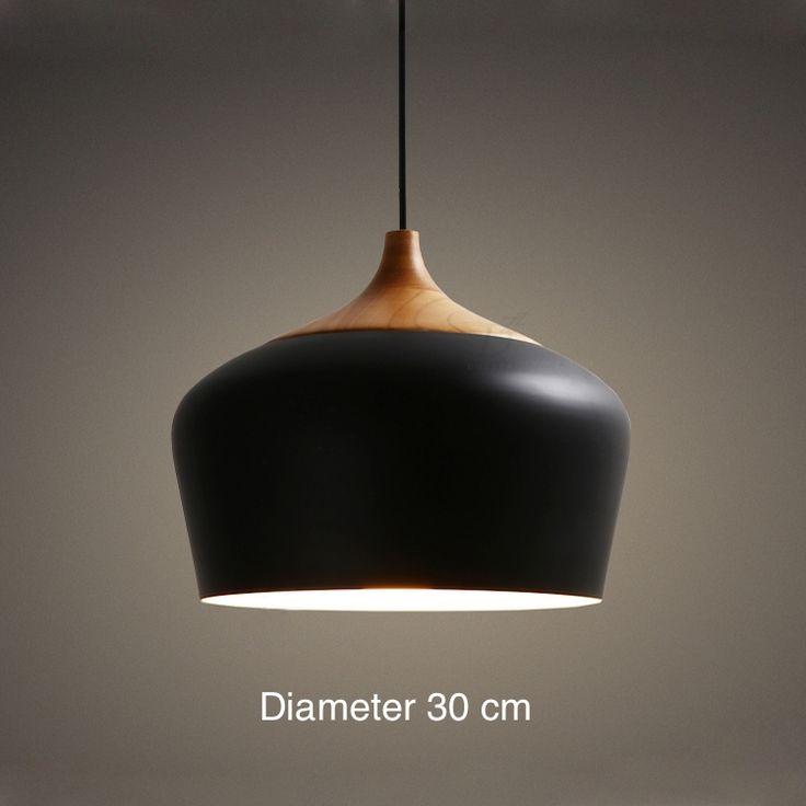 ペンダントライト 照明器具 玄関照明 北欧風照明 1灯 黒色/白色