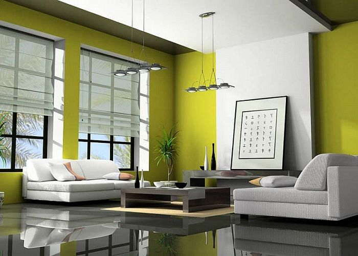 Bring Nature to Your Living Room By Painting It Green - Top Inspirations