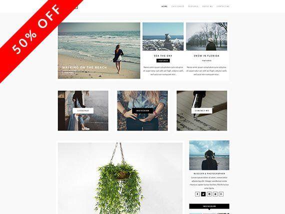 Andria - un tema para WordPress Blog - responsiva WordPress Blog Theme - tema de WordPress - elegante, Simple y minimalista tema de WordPress - Blogger