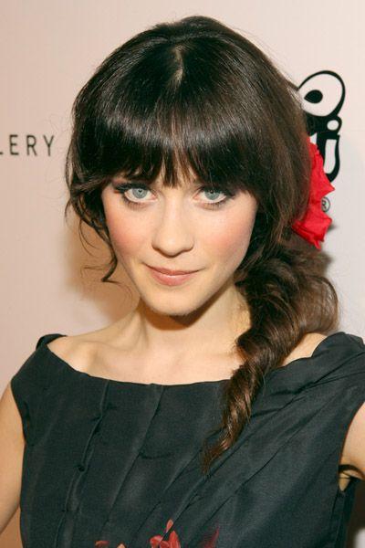 hair & make-up zooey deschanel