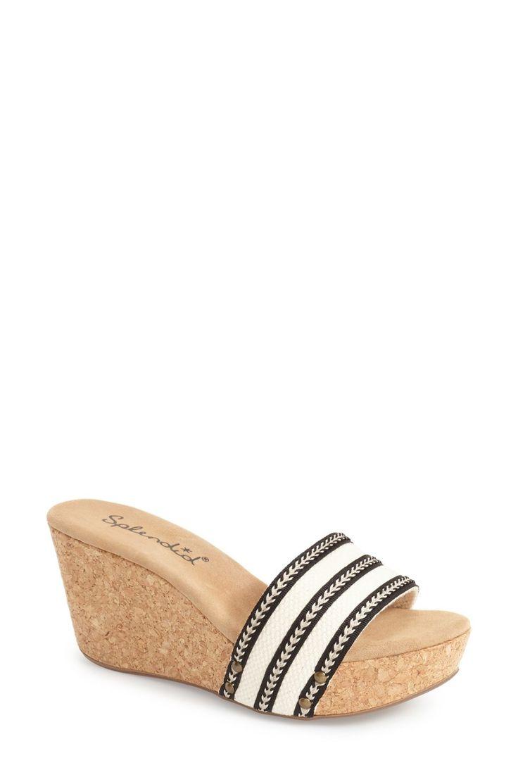 'Greenwich' Platform Wedge Sandal (Women)