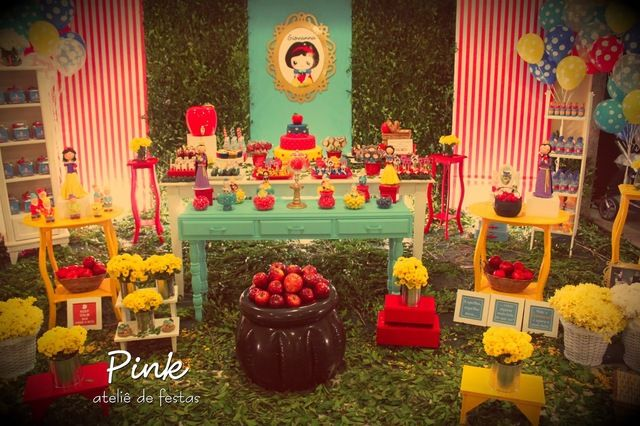 """Photo 1 of 18: Snow White / Birthday """"Snow White Forest""""   Catch My Party"""