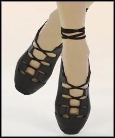 Renaissance Medieval Belly Dance Scottish Irish Costume Ghillies Shoes 8 8 5 | eBay