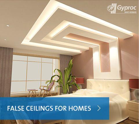 False ceilings for homes