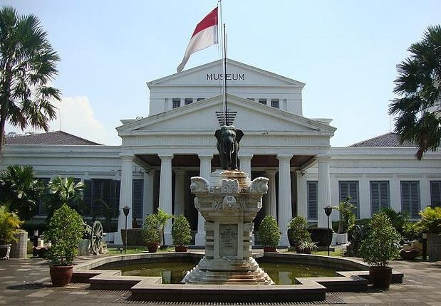 Halam deman museum nasional jakarta (museum gaja) - jakarta