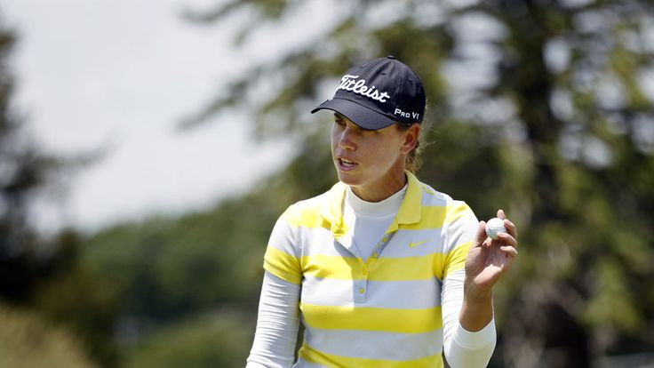 Karine Icher Ties Course Record with 62 Leads ShopRite LPGA