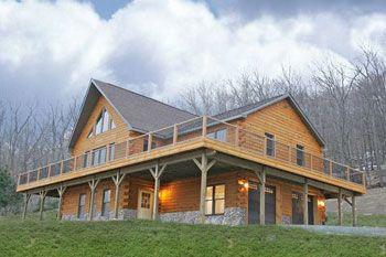 The Ellenville|APlus Modular Log Homes, LLC | Mifflinburg, PA