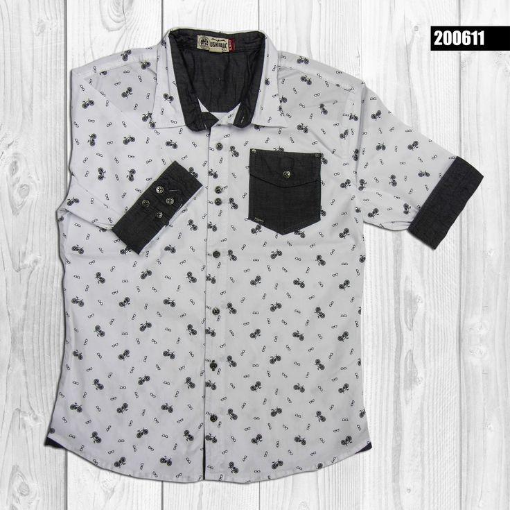 camisa-hombre-mini-prints-manga-corta-color-blanco-200611
