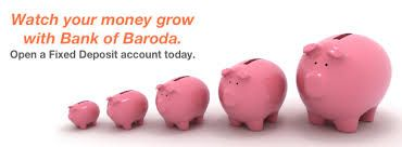 Steps:How to apply for  Bank  of Baroda Fixed Deposit