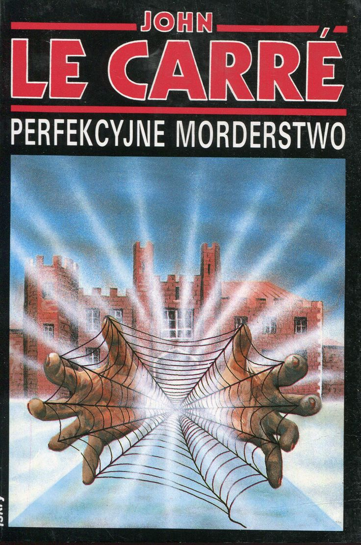 """""""Perfekcyjne morderstwo"""" John le Carré Translated by Michał Roniker Cover by Krystyna Töpfer Illustrated by Roman Kirilenko Published by Wydawnictwo Iskry 1992"""