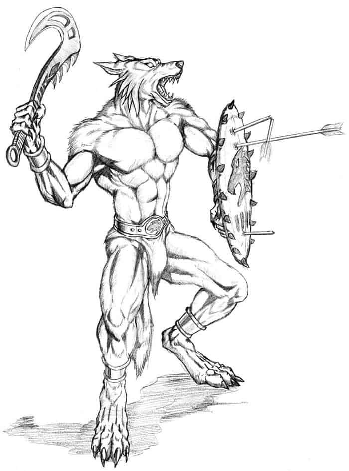 Scary Werewolf Coloring Pages Free Coloring Sheets Werewolf Coloring Pages Warrior