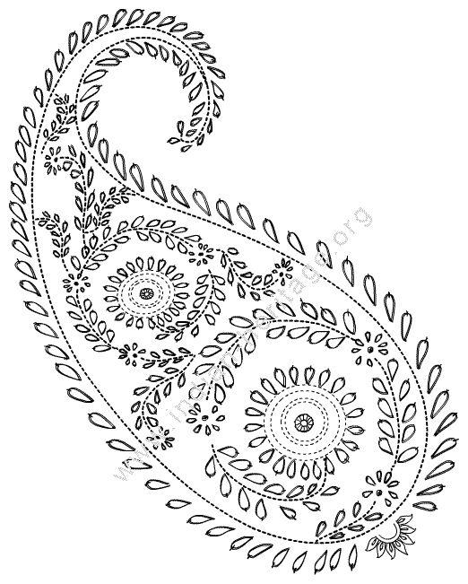 paisley design http://www.indian-heritage.org/artcraft/designs/mango.html