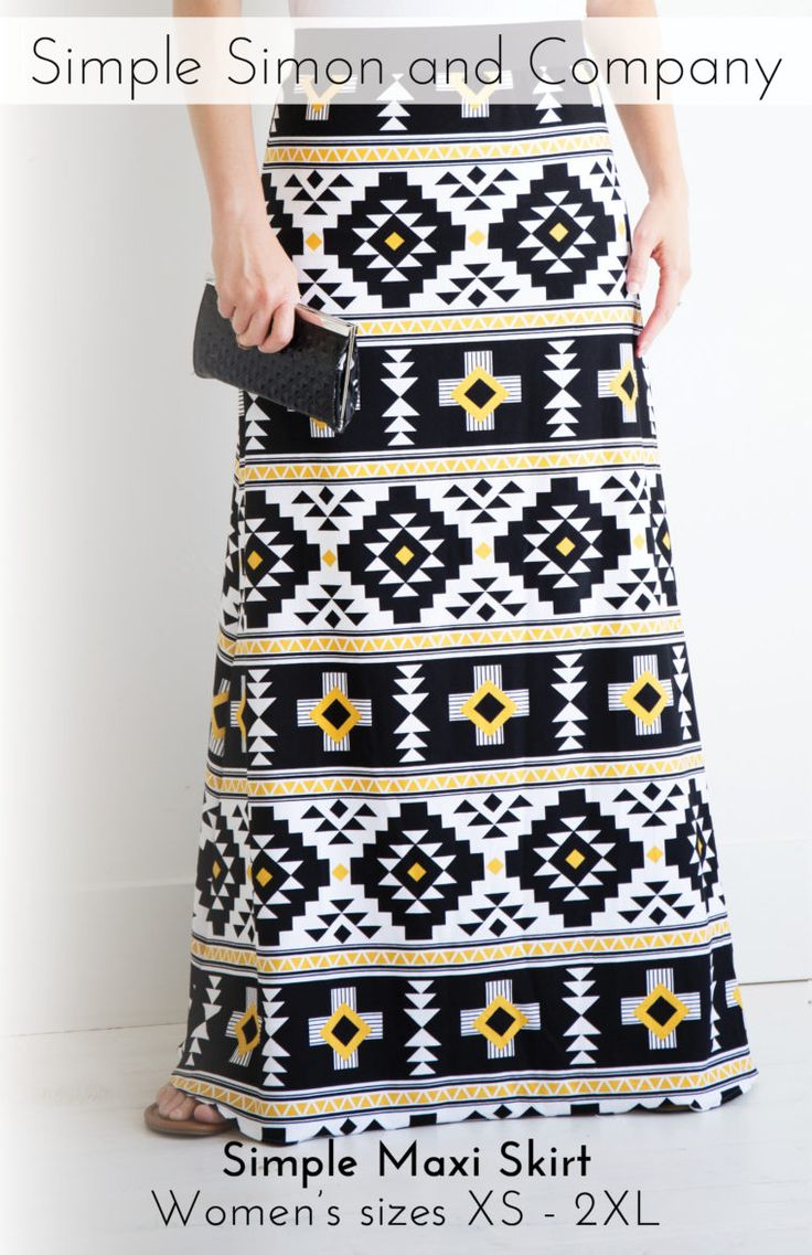 Skirting the Issue: Maxi Skirts (Tutorials and a FREE Pattern) - Simple Simon and Company