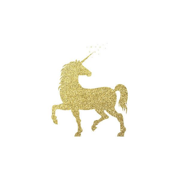 Gold Glitter Unicorn Wall Art Print (21 AUD) ❤ liked on Polyvore featuring home, home decor, wall art, unicorn wall art, home wall decor, gold wall art, mounted wall art and peach wall art