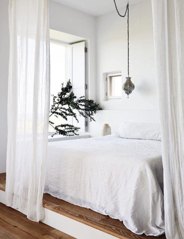 White Bedroom   40 Minimalist Bedroom Ideas   Less is More