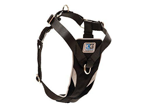 Canine Equipment Ultimate Control Dog Harness, Small, Black