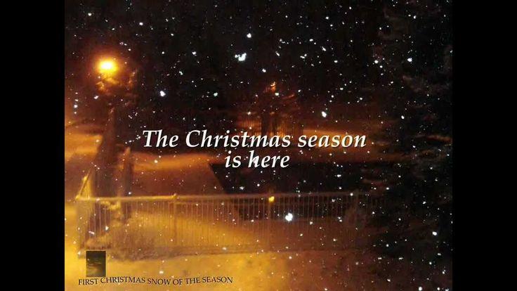 Christmas Videos & Christmas Poems 2013: First Christmas Snow Of The Season #christmas