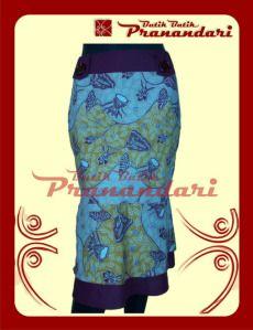 Rok Batik Variasi Ima Marun