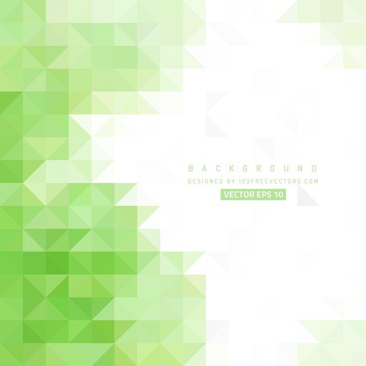 White Green Triangle Background Design  - https://www.123freevectors.com/white-green-triangle-background-design/