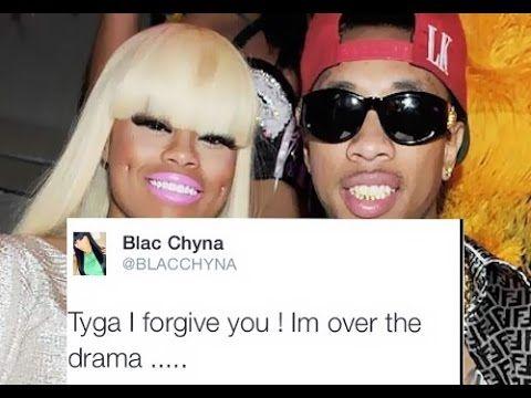 Blac Chyna Forgives Tyga...On Twitter! - YouTube