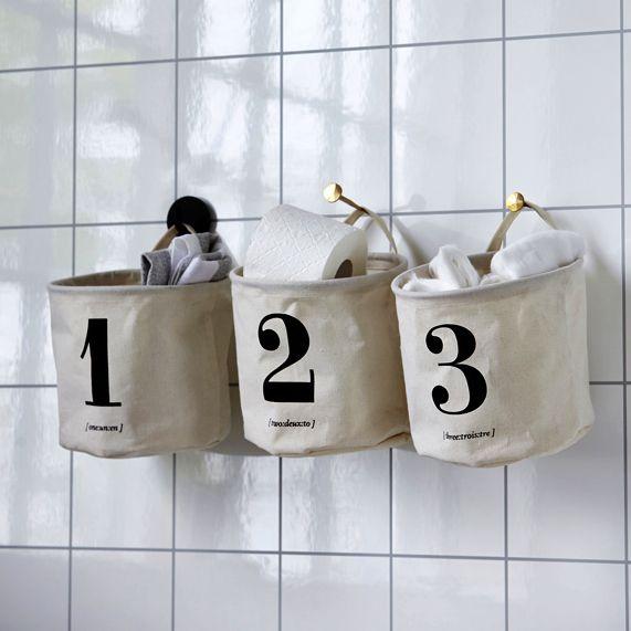 Numbered Storage by House Doctor @ Design Vintage