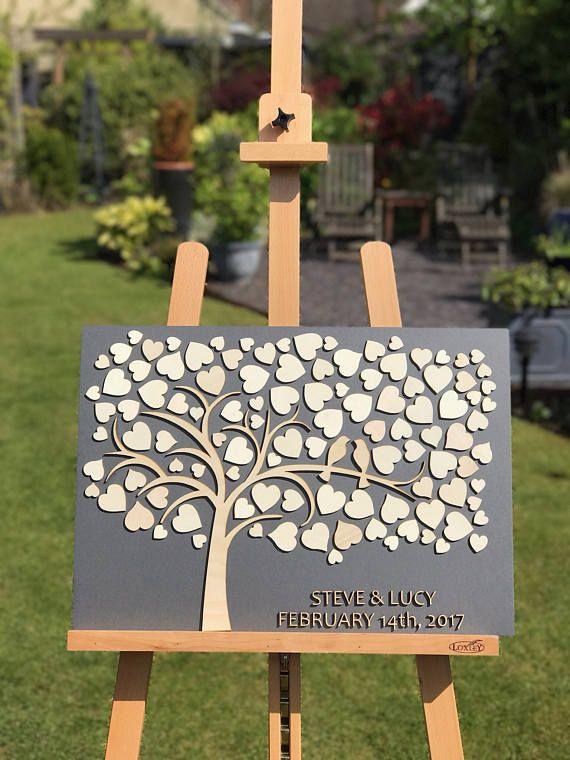 Personalisiertes Gästebuch der Hochzeit 3D [Free UK Delivery]   – Gästebuch