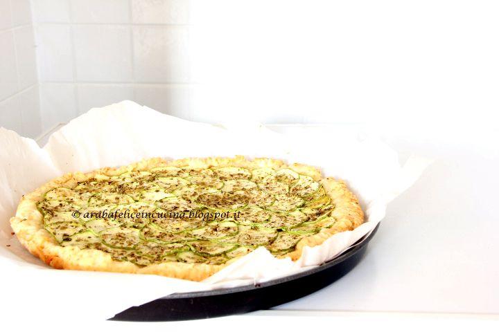 Arabafelice in cucina!: Crostata salata...furbissima (e pure vegan)
