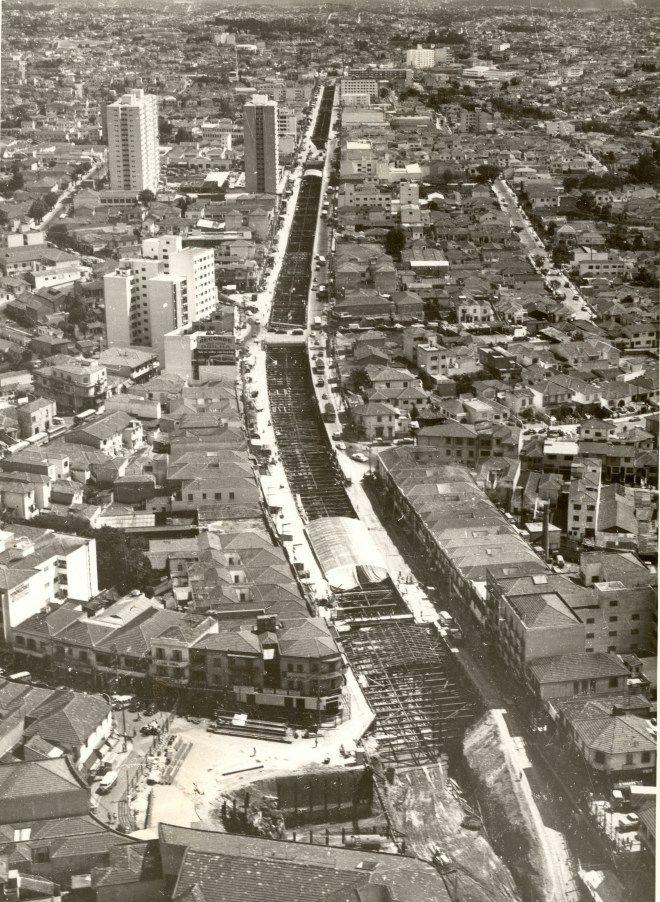 Construção do Metrô de São Paulo. Linha Norte/Sul