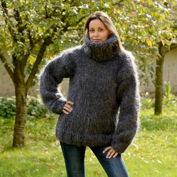 https://extravagantza.com/heavy-weight-mohair-sweaters/317-10-strands-hand-knit-mohair-sweater-dark-gray-color-fuzzy-and-fluffy-turtleneck-plain-design.html