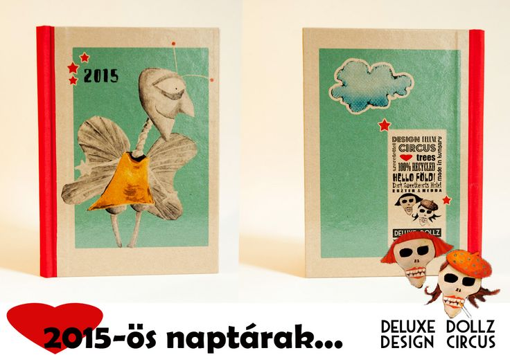 2015 calendar with the 'Insect Parent'