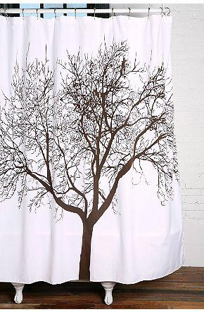 Best Of Three: Tree Shower Curtains