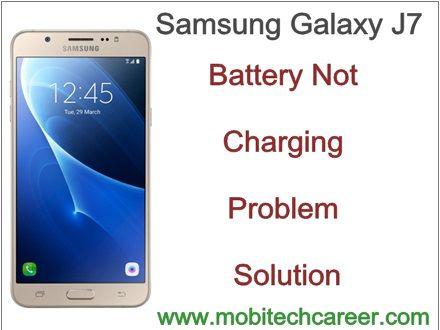How to Fix & Repair Battery Not Charging - Samsung Galaxy J7 http://ift.tt/2vKBsDz