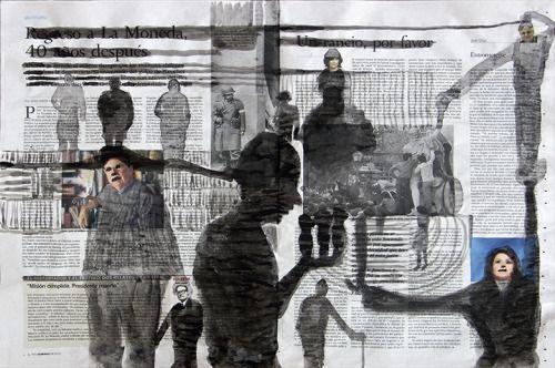 Tanja Smit Elpa(…)Allende.2013 40x57 cm VIA