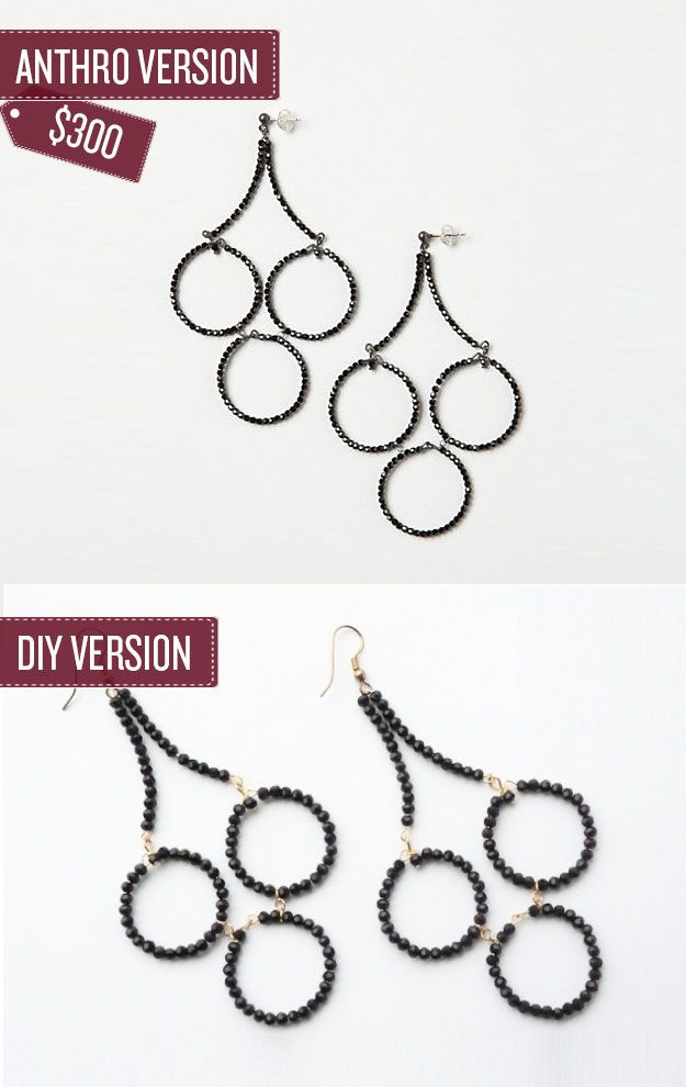Best 25 diy chandelier earrings ideas on pinterest diy earrings 38 anthropologie hacks beaded chandelierchandeliersdiy mozeypictures Choice Image