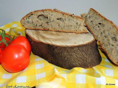 Moje Małe Czarowanie: Chleb pszenny na zakwasie pszennym z pokrzywą