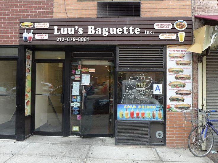 Luu's Baguette: Vietnamese banh mi's in Kips Bay. 134 E 26th St. #cheapeats