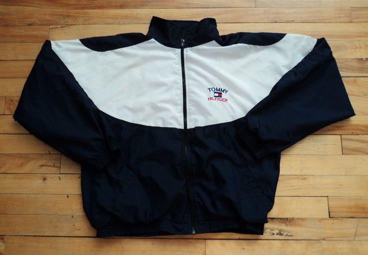 Vintage Tommy Hilfiger Light Jacket VTG by StreetwearAndVintage on Etsy
