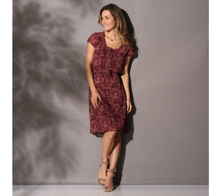 Krátké šaty s potiskem | blancheporte.c #blancheporte #blancheporteCZ #blancheporte_cz #dress