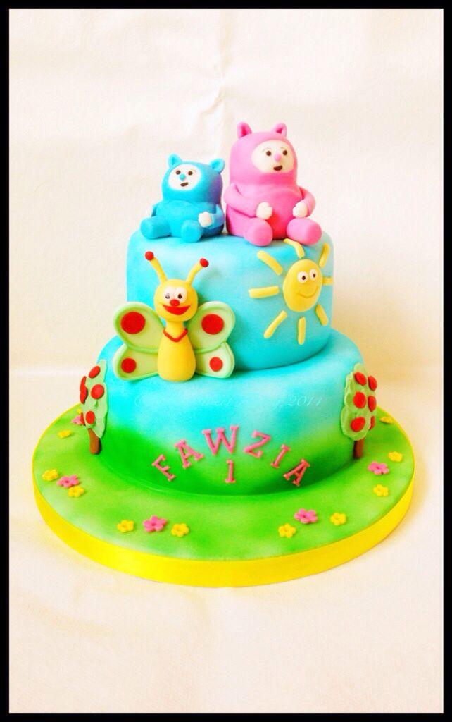 Baby TV, Billy & Bam Bam cake for 1st birthday.