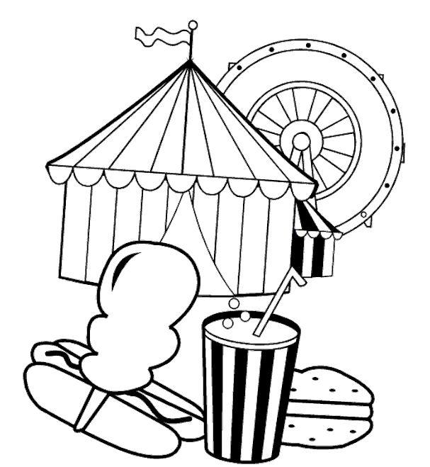 zirkus 24 ausmalbilder für kinder malvorlagen zum