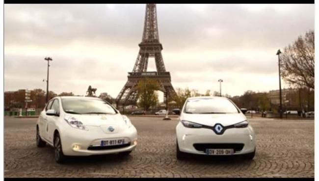 Renault-Nissan Alliance Provides World's Largest EV Fleet for 2015 COP21