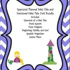 Rapunzel Themed Fairy Tale and Fractured Fairy Tale Bundle with Lesson Plans  Included: Elements of a Fairy Tale Book Report Venn Diagram Beginning...