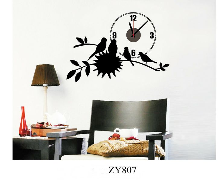 25 best ideas about reloj pared adhesivo en pinterest for Relojes para salon