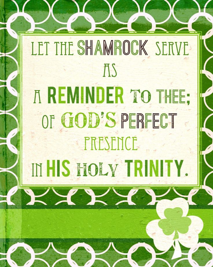 1000 images about St Patrick 39 s Day The Trinity on