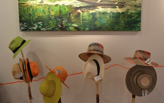 Variety of hats made by colombian artisans! #Crafts