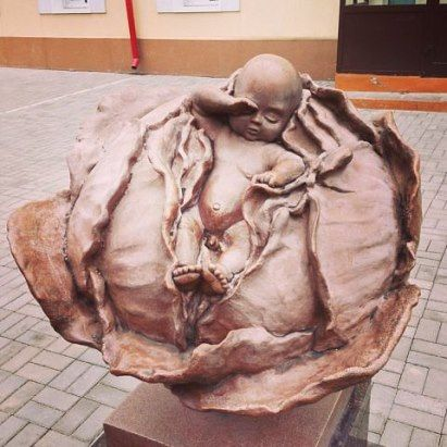 памятник маме и ребенку