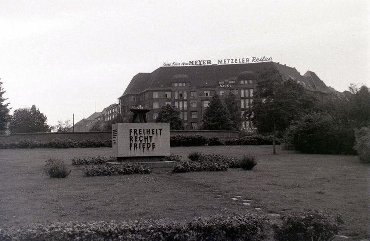 Theodor Heuss Platz 1962