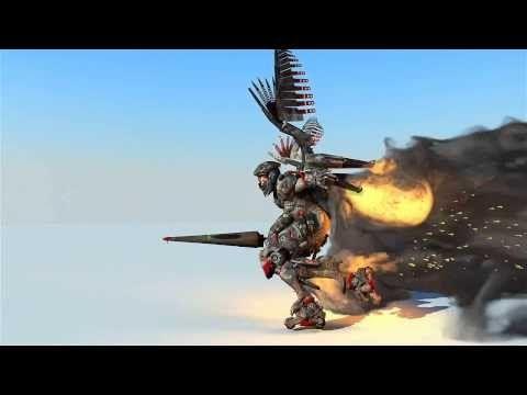 Dominance war winner model animation. Пукан горит. - YouTube