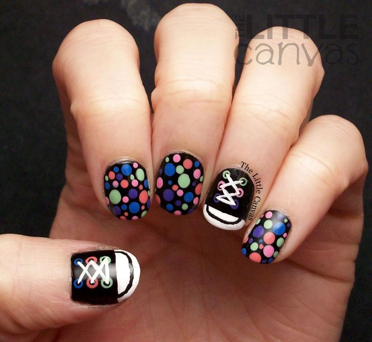 Nail Art Couture Converse Nail Art: Top 25+ Best Converse Nail Art Ideas On Pinterest