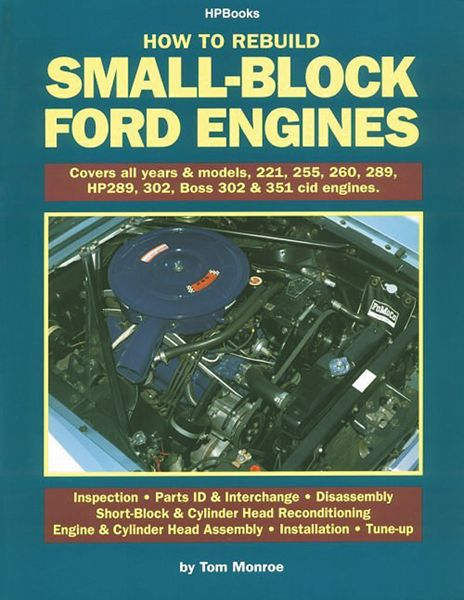 8 best how to books images on pinterest how to book bestseller how to rebuild small block ford engines a book by tom monroe fandeluxe Choice Image